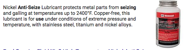 Nickel Anti-Seize Lubricant