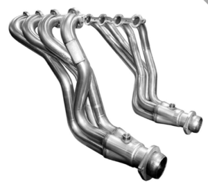 Stainless steel headers (Not compatible with copper based anti seize!)