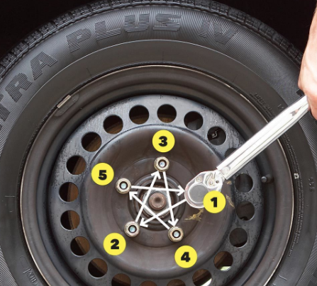 how to tighten lug nuts properly with torque wrench 2018