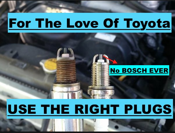 The Only Spark Plugs For Toyota Engines (3.4l)