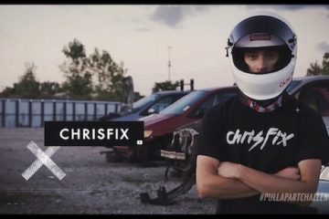 Who is Chrisfix and why doesn't he show his face?
