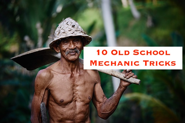 old school mechanic life hack trick #3 freezing