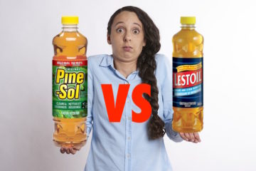 Pine sol Versus Lestoil what is the better cleaner