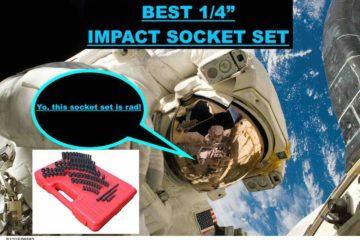 Best 1/4″ Drive Impact Socket Set SAE & Metric (Incredible Deal)