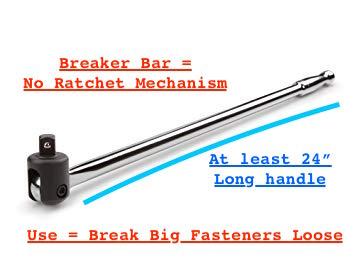 BREAKER BAR - Beginner Mechanic Complete Tool List