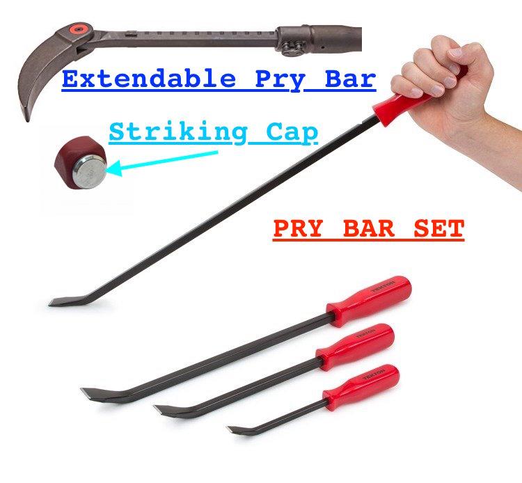 PRY BARS - Beginner Mechanic Complete Tool List