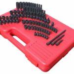 "Sunex Tools 1874 1/4"" Drive Master SAE and Metric Impact Socket Set"