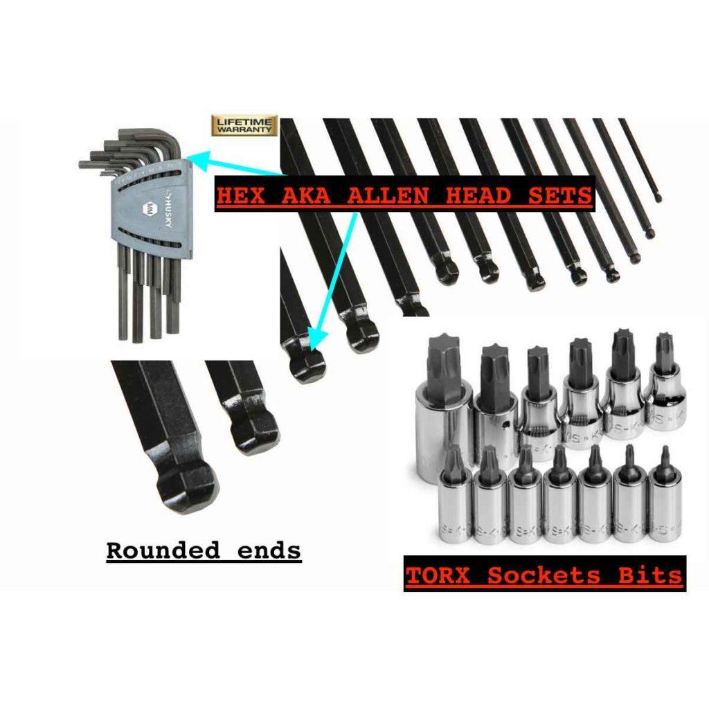 TORX SET TOOLS: - Beginner Mechanic Complete Tool List