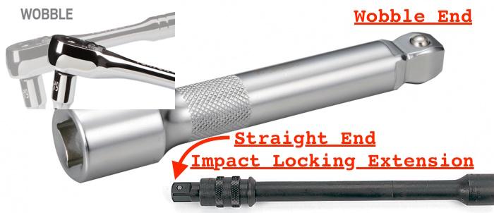 wobble vs impact vs straight extensions