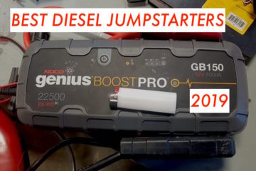 Best Diesel Jumpstarter in 2019? Illustrated Buying Guide & Top 5 List