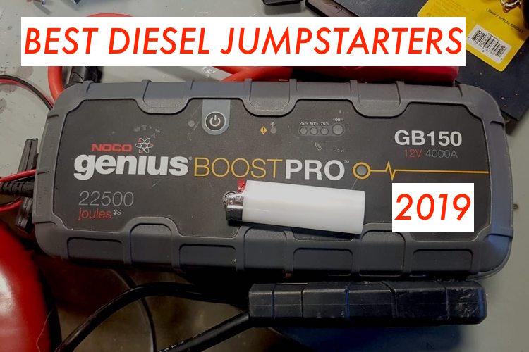 Best Diesel Jumpstarter in 2019? Illustrated Buying Guide & Top 5 List