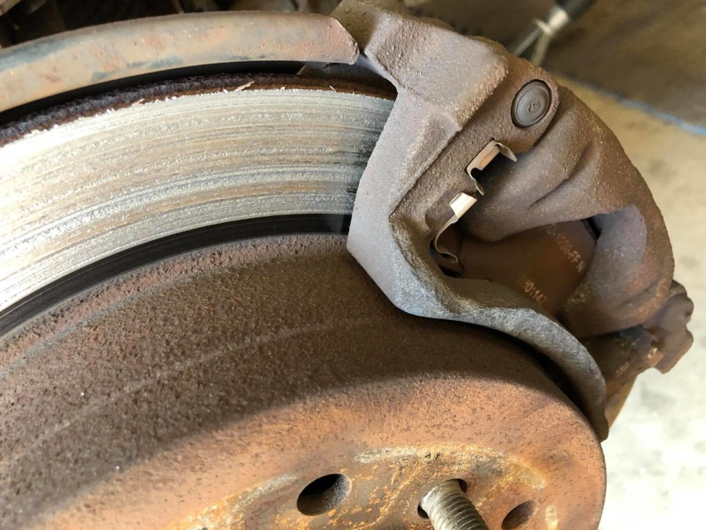 Sticky Calipers Can Cause Much More Damage