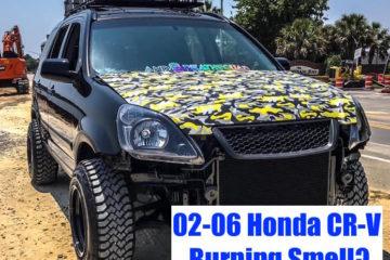 Honda CR-V (02-06) Burning Smell After Driving (Sticky Brake Caliper) Repair & Diagnosis Guide